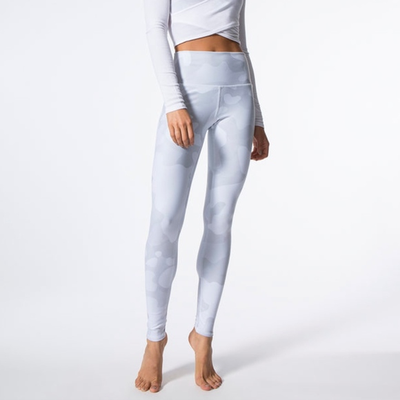 ff5b0f8032a8a ALO Yoga Pants | Highwaist Airbrush White Camo Legging | Poshmark